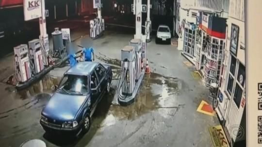 Polícia procura por ladrão que assaltou posto de combustível em São Manuel