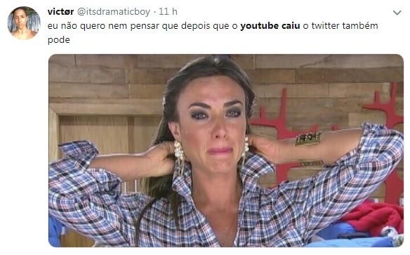 Primeiro o Youtube e depois... o Twitter? (Foto: Reprodução / Twitter)