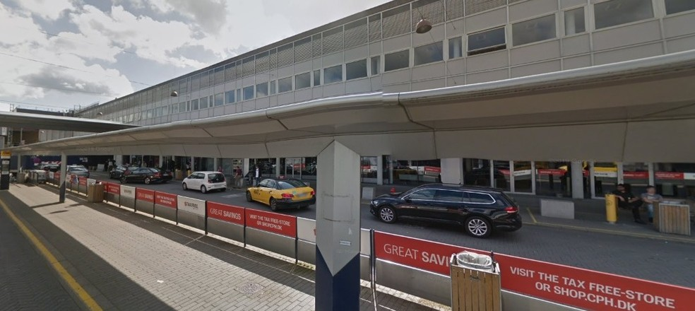Aeroporto Internacional de Copenhague, na Dinamarca. — Foto: Reprodução / Google Maps