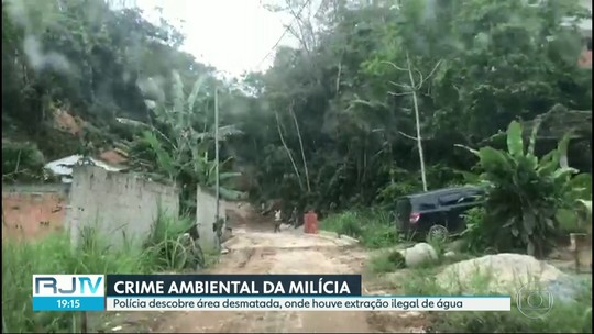Polícia descobre área desmatada por milicianos para a construção de condomínio