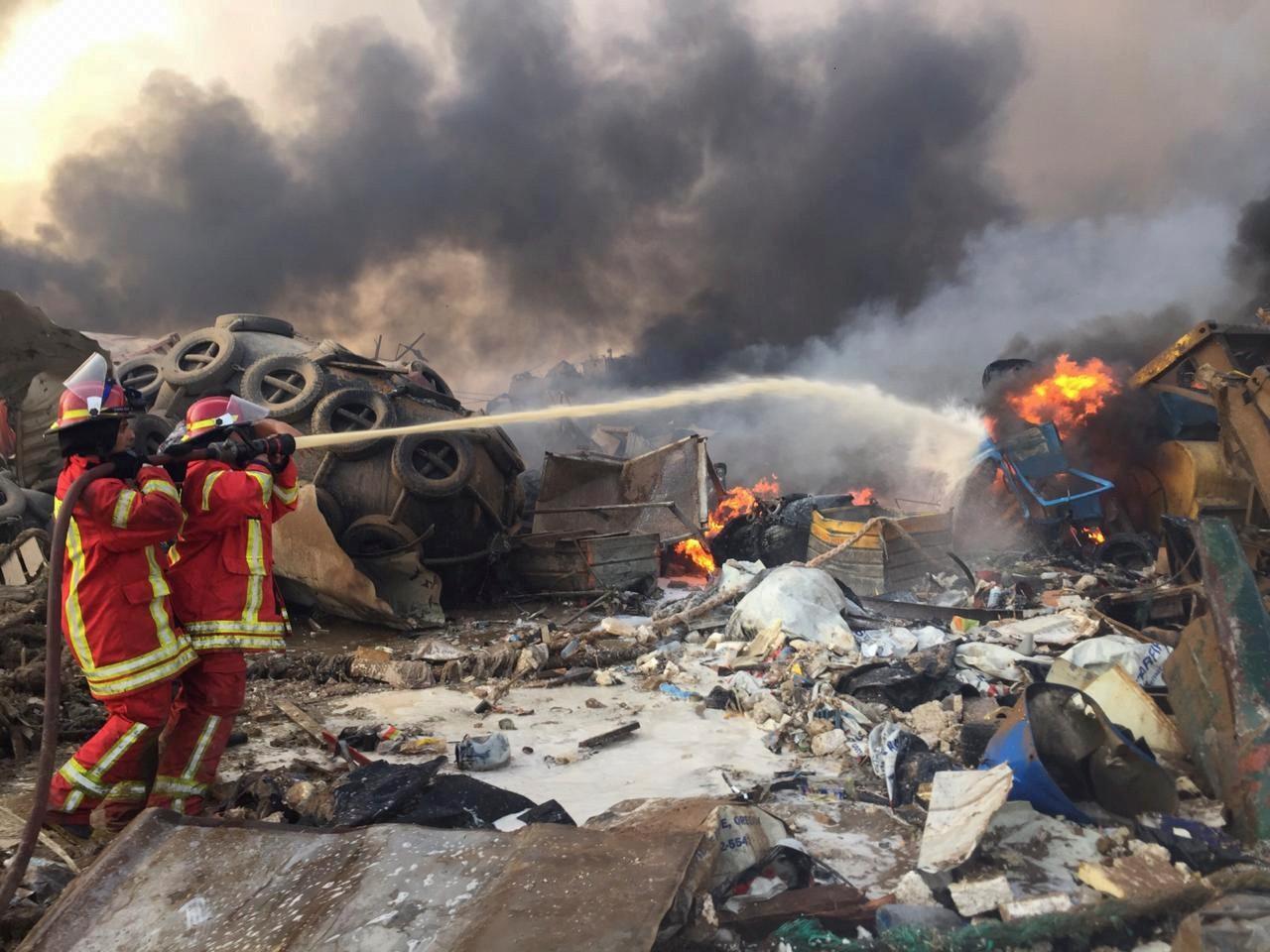 'Sentimos como se fosse um terremoto', diz brasileira em Beirute