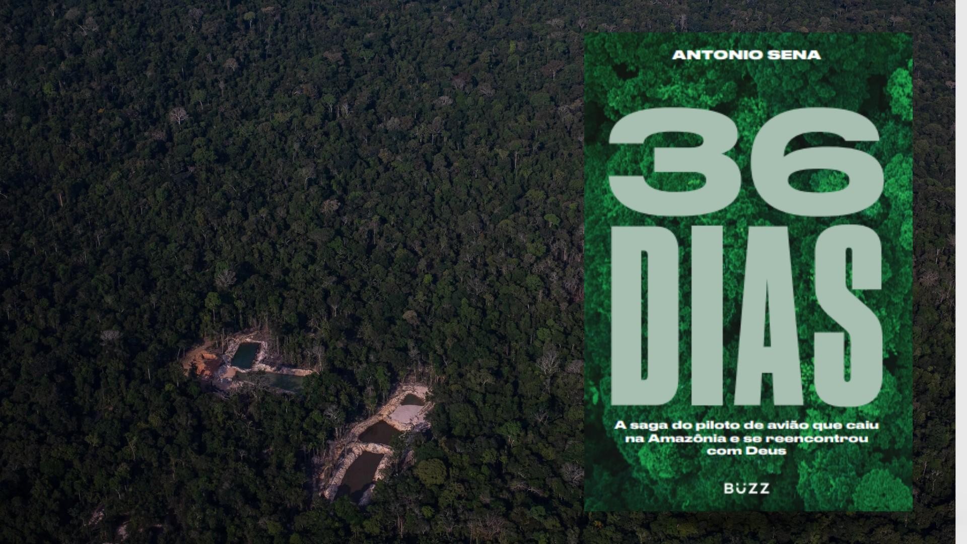 Piloto que ficou desaparecido na Amazônia por 36 dias lança livro sobre experiências pessoais e espirituais