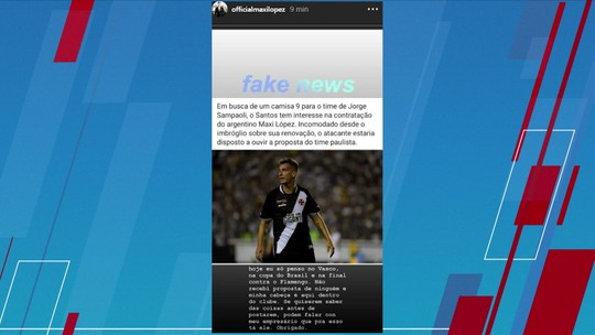 """Jornalista não se surpreende com má fase de gringo no Vasco: """"Estamos vendo o verdadeiro Máxi López"""""""