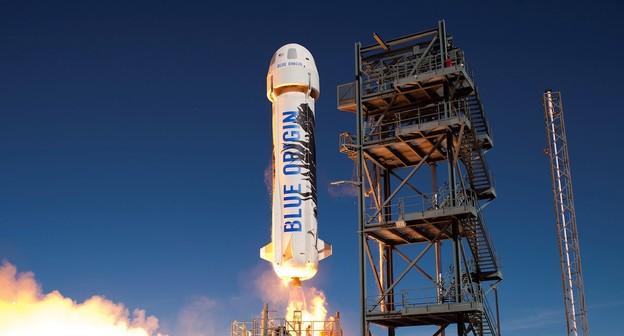 Blue Origin planeja transportar passageiros até o espaço em abril