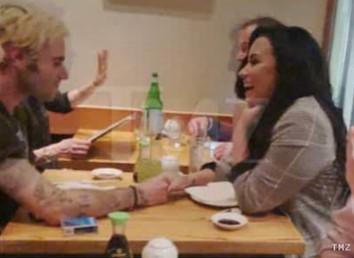 Demi Lovato e Henry Levy (Foto: Site TMZ)
