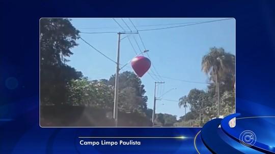 Moradores registram balões sobrevoando a região de Sorocaba e Jundiaí