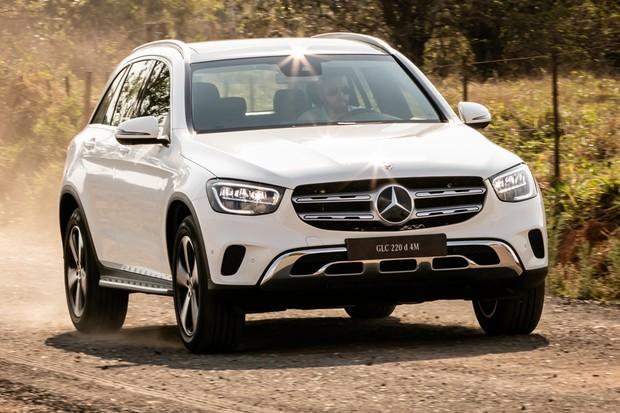 Mercedes-Benz GLC foi lançado com motor 2.0 turbodiesel (Foto: Divulgação)