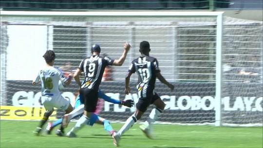Os gols de Atlético-MG 3 x 1 Santos pela 18ª rodada do Campeonato Brasileiro