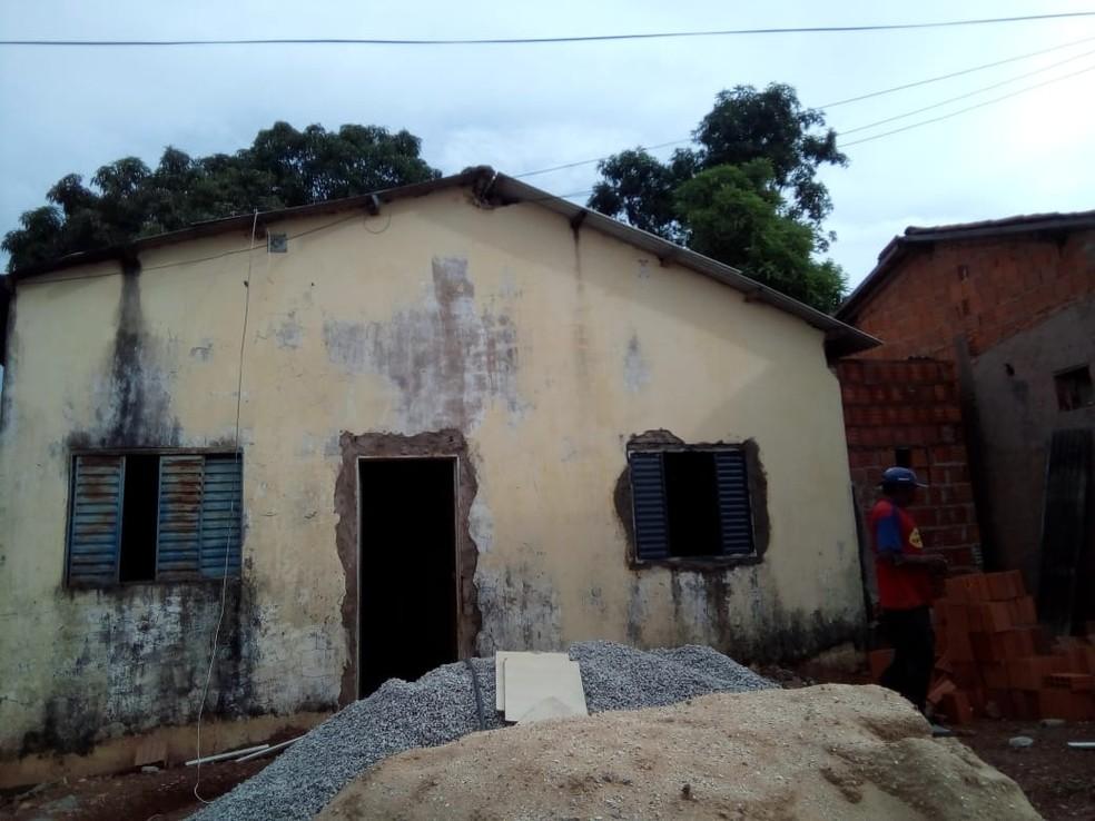 Casa não tem estrutura para instalação de equipamentos — Foto: José Rodrigues da Silva Filho/ Arquivo pessoal
