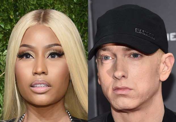 Nicki Minaj e Eminem (Foto: Getty Images)