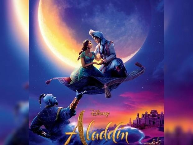 Official Movie Posters 2019: Pôster Nacional De Live Action De 'Aladdin' Mostra Trio De