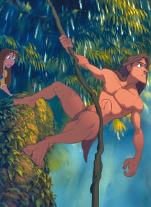 Rede Globo Filmes Animacao Tarzan E A Atracao Da Tv Globinho