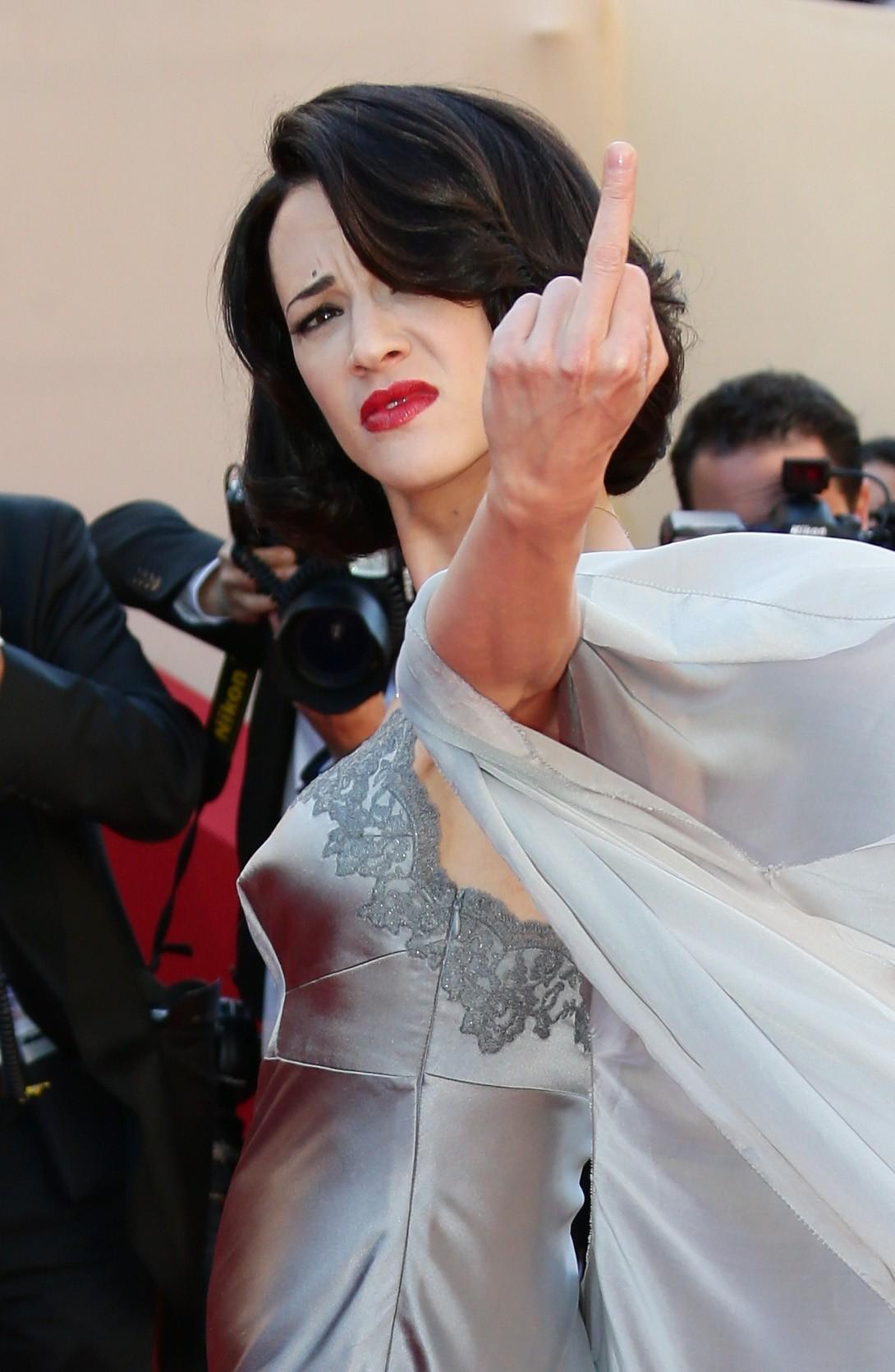 A atriz italiana Asia Argento (Foto: Getty)