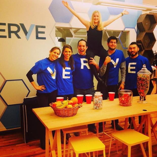 Funcionários da Verve (Foto: Divulgação/Reprodução Facebook)