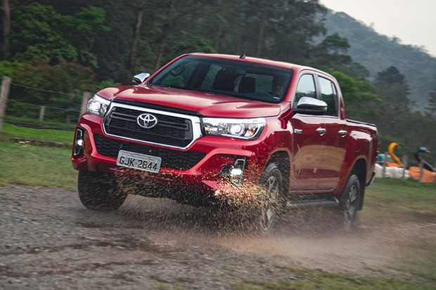 Toyota Hilux SRX (Foto: Fabio Aro)