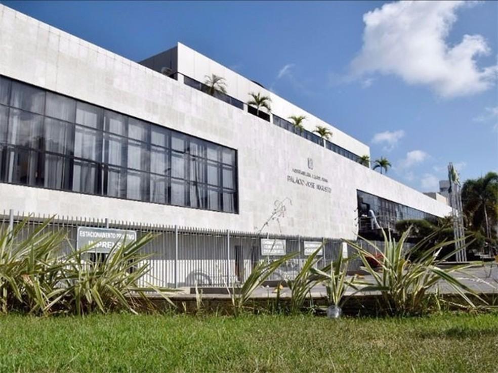 Palácio José Augusto, sede da Assembleia do RN — Foto: João Gilberto/ALRN