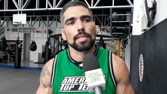 """Marcelo Guimarães, do UFC, cogita se aposentar: """"Médicos pedem pra eu parar"""""""