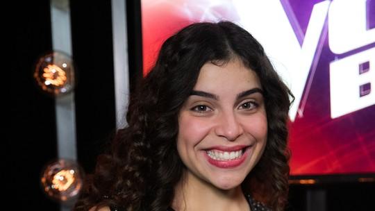Lúcia Muniz relembra primeira vez no 'The Voice': 'Foi surreal'