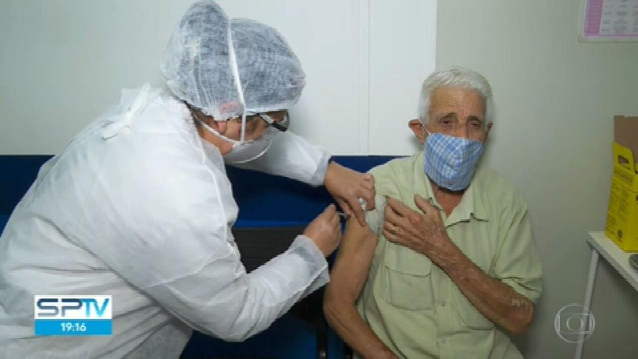 Sábado foi dia de vacinação contra a Covid-19 em São Paulo