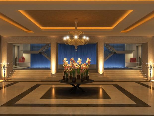 Empresa divulga imagens de futuro hotel na sede do Morro da Viúva