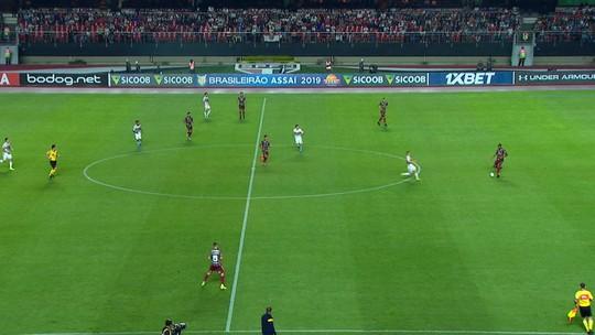 Fluminense fica com a posse de bola em jogo contra o São Paulo
