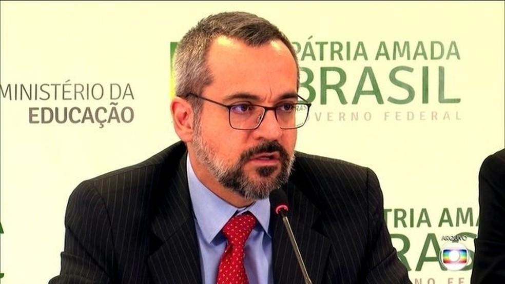 Abraham Weintraub — Foto: Reprodução / TV Globo