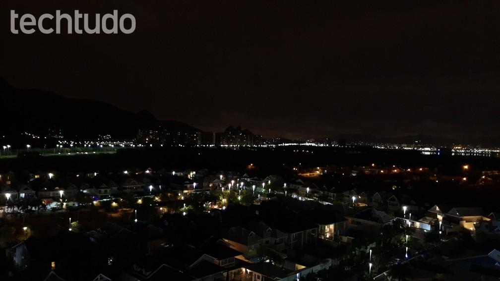 Motorola One Vision: foto sem visão noturna — Foto: Vitor Grama/TechTudo