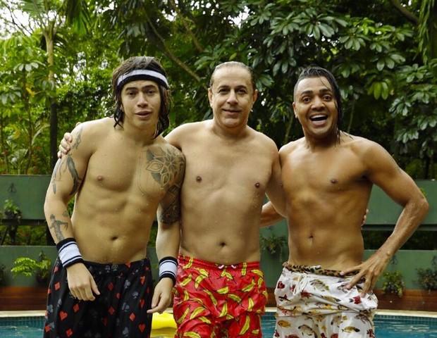 Whindersson Nunes, Tom Cavalcante e Tirulipa (Foto: Reprodução Instagram)