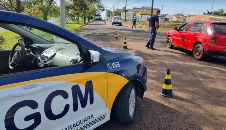 Força-tarefa em Araraquara soma mais de 800 abordagens a veículos em dois dias de confinamento