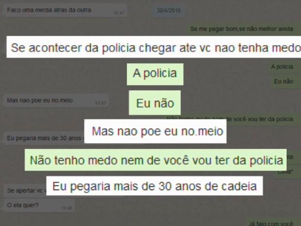 Mãe e filha planejam a morte de professor da UFTM em conversas do WhatsApp São Carlos (Foto: Reprodução/ EPTV)
