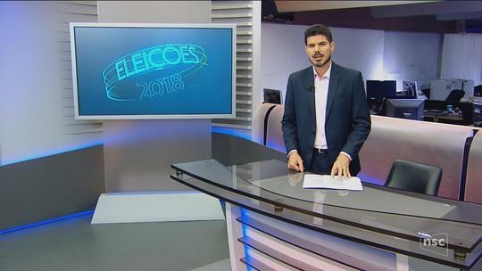 Veja a agenda dos candidatos ao governo de SC neste sábado (8)