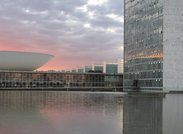 A cidade de Brasília foi planejada para ter uma arquitetura única (Foto: Agência Brasil/ Reprodução)