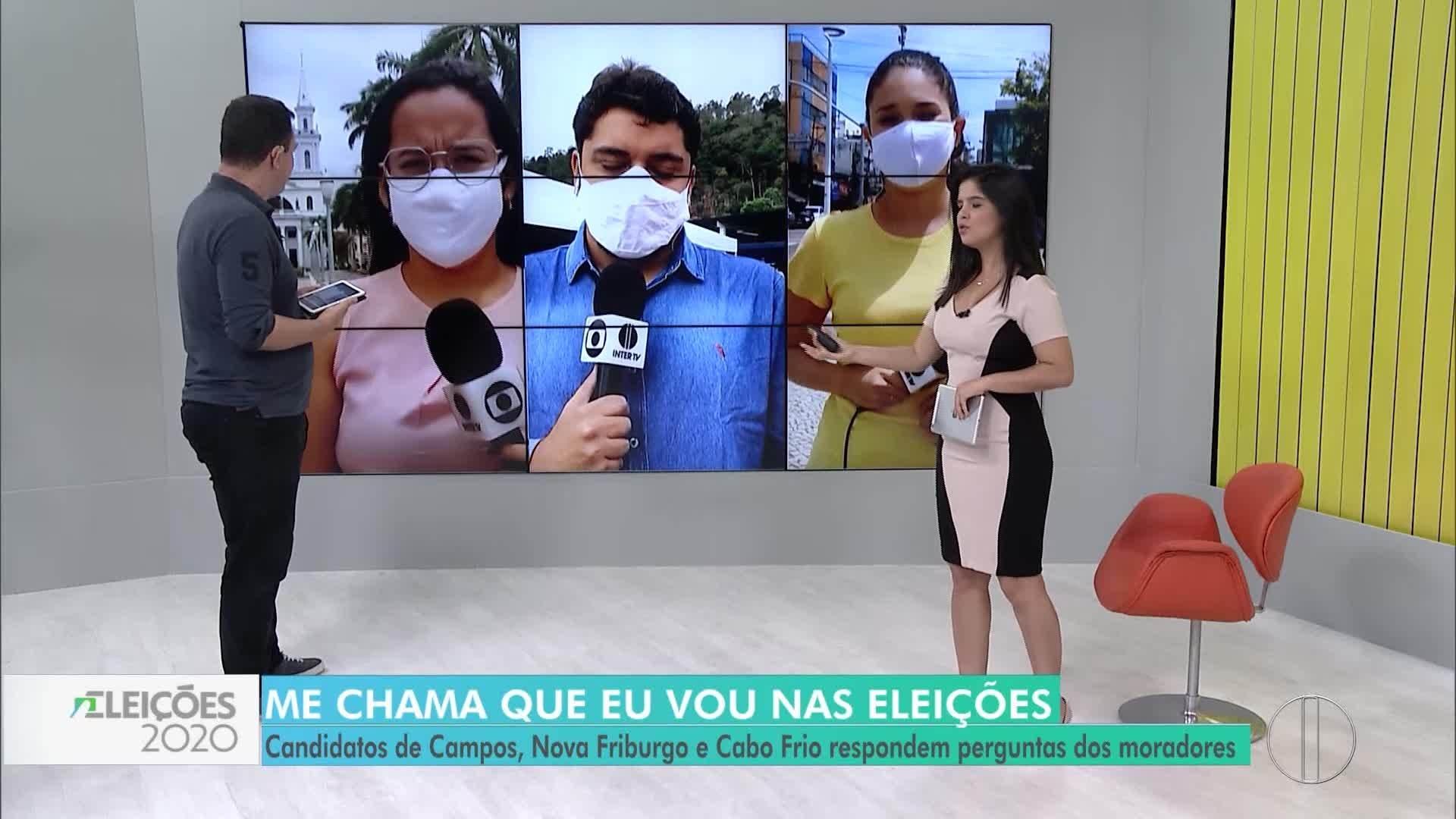 VÍDEOS: 'Me chama que eu vou' Eleições 2020 - Cabo Frio