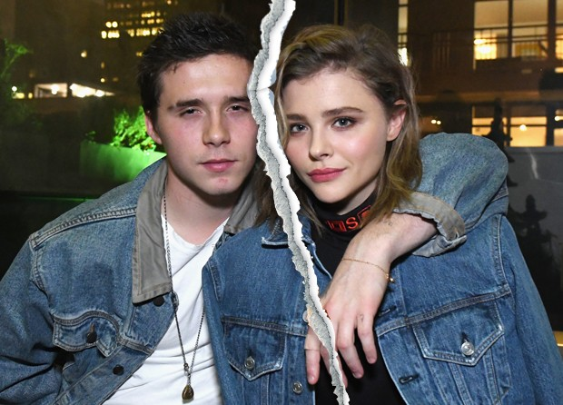 Chloë Moretz e Brooklyn Beckham terminaram namoro em abril (Foto: Getty Images)