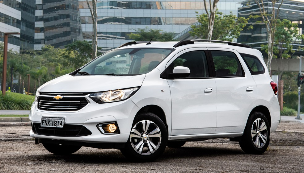 Chevrolet Spin Premier — Foto: Divulgação/Chevrolet
