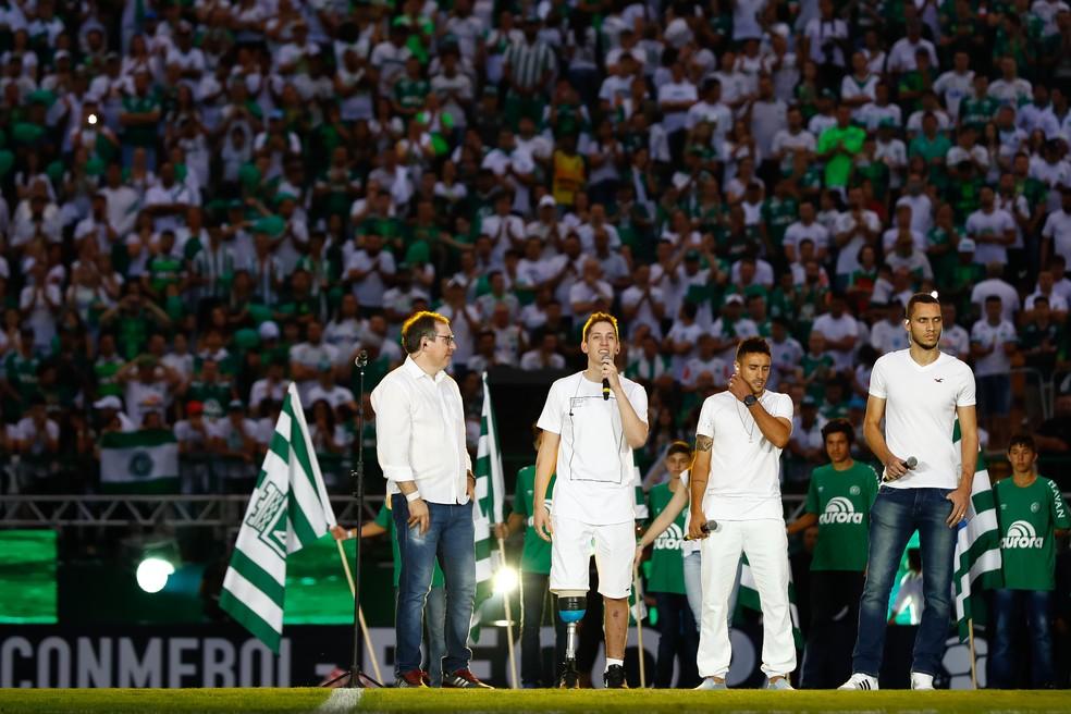 Os brasileiros que sobreviveram à tragédia  — Foto: Buda Mendes/Getty Images