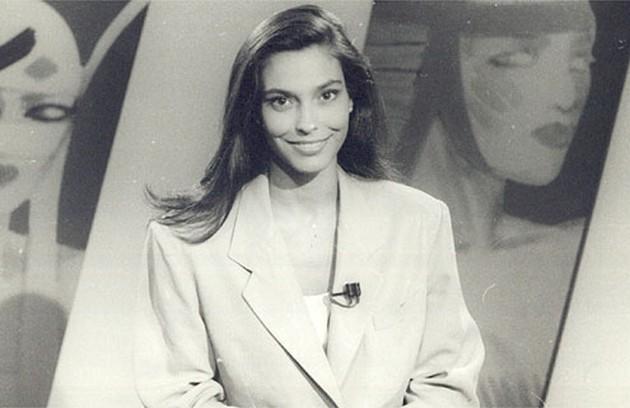 Valéria Monteiro também apresentou o dominical entre 1988 e 1991 (Foto: Reprodução da internet)