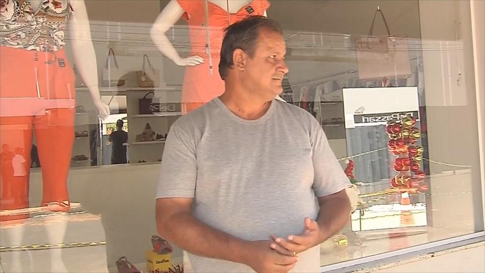 Pai de Késia fala sobre morte da filha  — Foto: Reprodução/TV TEM