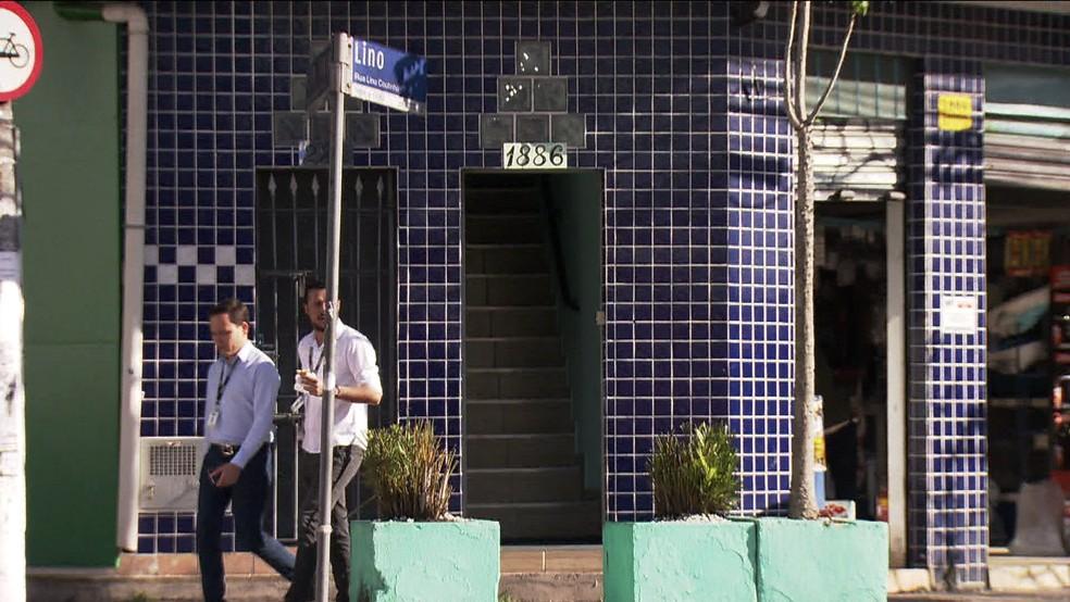 Clínica Odonto Chessa não quis comentar caso de estupro (Foto: Reprodução/TV Globo)
