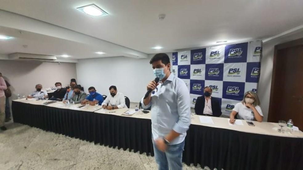 Aécio Rodrigues é candidato a prefeito de Cuiabá — Foto: Reprodução