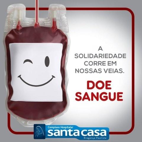 Doe sangue. A solidariedade corre em nossas veias