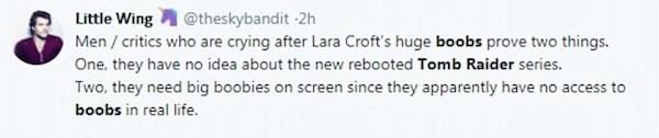Uma defesa à atriz Alicia Vikander (Foto: Twitter)