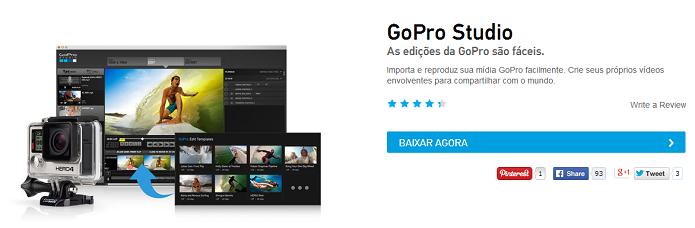 GoPro tem app oficial para computador (Foto: Divulgação)