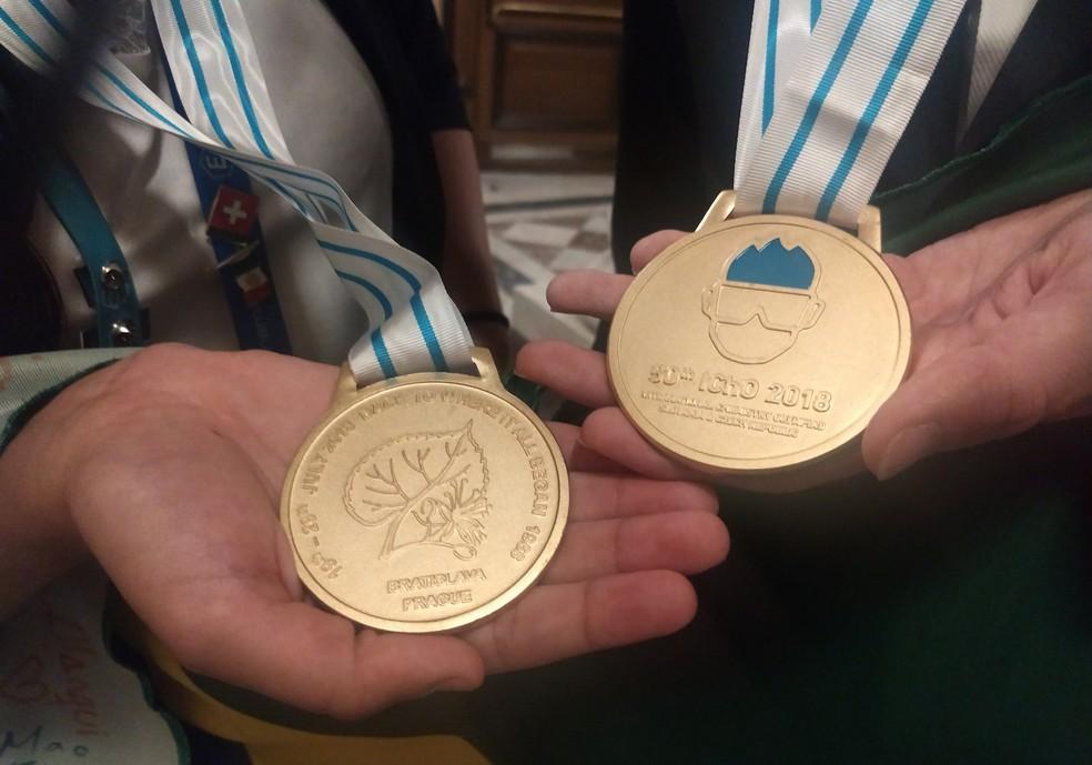Medalha de Ouro da Olimpíada Internacional de Química (Foto: Divulgação)