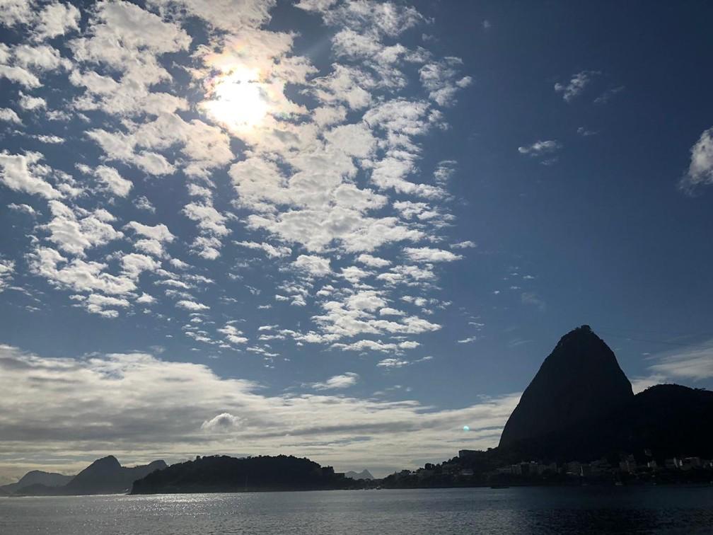 Segundo o Climatempo, não há previsão de chuva nesta sexta na Região Metropolitana do Rio — Foto: Carlos Brito/G1 Rio