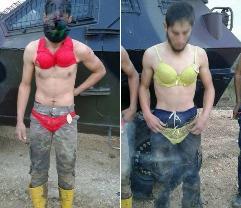 Refugiados sírios forçados a usar calcinha e sutiã ao passar pela fronteira com a Turquia