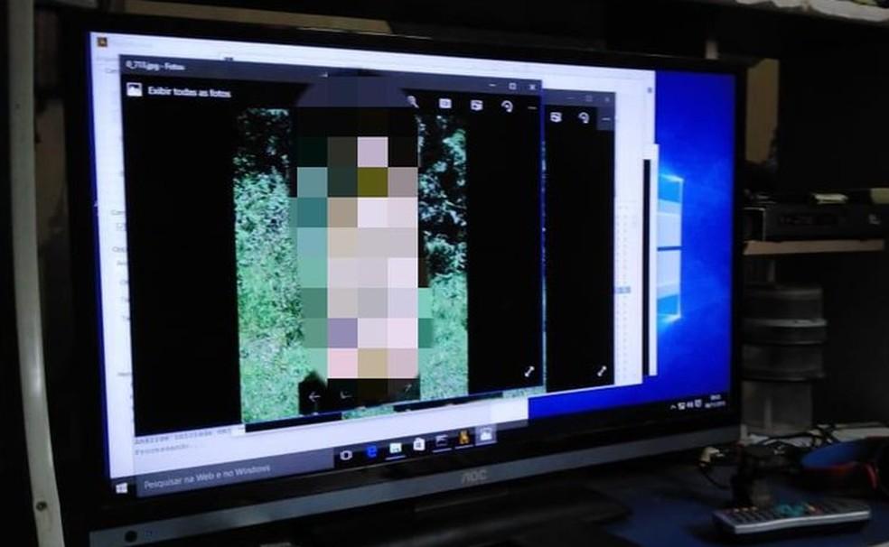 Foto de arquivo: homens são suspeitos também de compartilhar conteúdos pela internet — Foto: Divulgação/PF