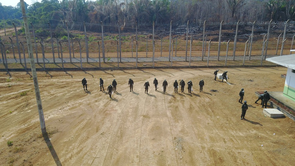 Varredura aconteceu na quinta-feira, 10 (Foto: Assessoria 17ª Bda Inf Sl/Divulgação)
