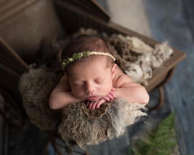 Gaia, filha de Joana Balaguer (Foto: Reprodução/Instagram)