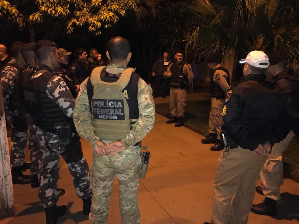 Operação Esforço Integrado ocorre desde 20 de junho e, até o momento, prendeu 80 pessoas (Foto: Marcos Landim/RPC)
